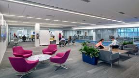 360 magazine la z boy 新办公室是企业文化的写照