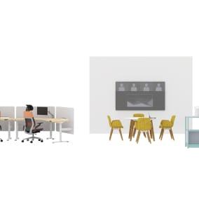 Steelcase Migration SE Pro, Steelcase Gesture Chair, Steelcase Flex Active Frames, Steelcase Flex Collection, Steelcase Roam Collection, Orangebox Cubb