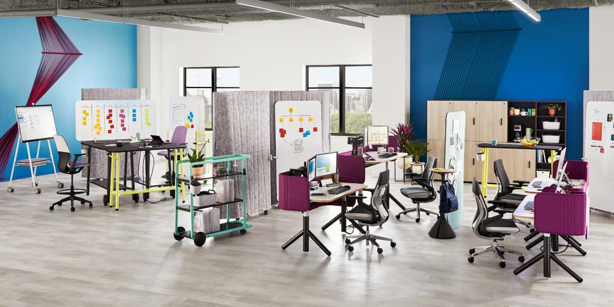 Steelcase Flex Height Adjustable Desk